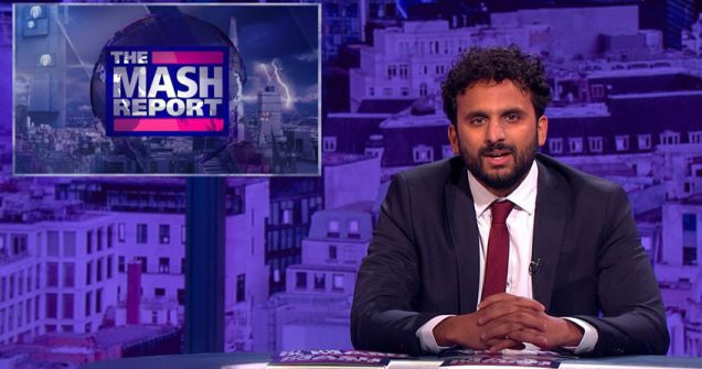 Nish Kumar on the The Mash Report