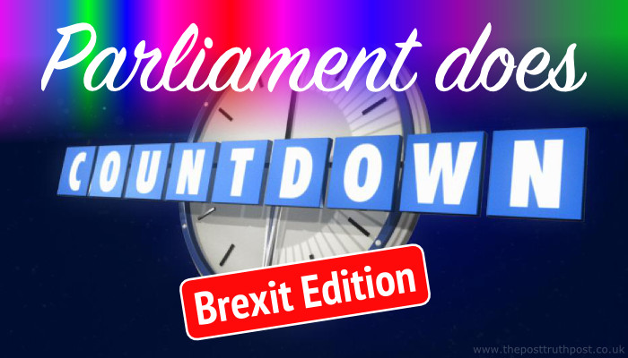 Parliament Does Countdown - Brexit Edition