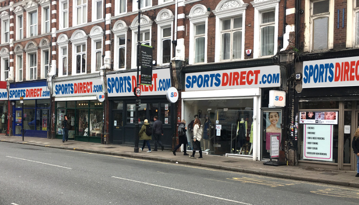 A busy London High Street that looks just like any other