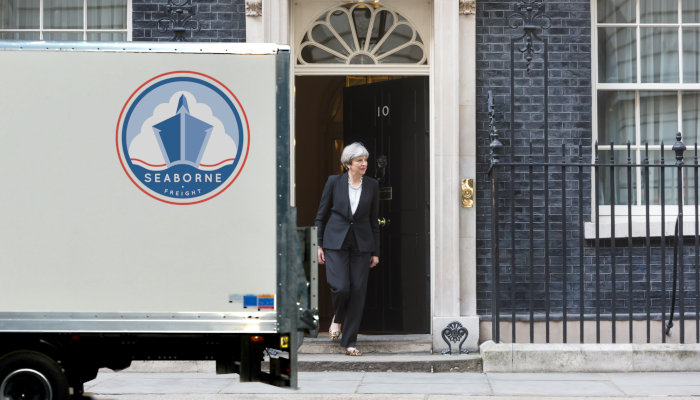 Theresa May Moving