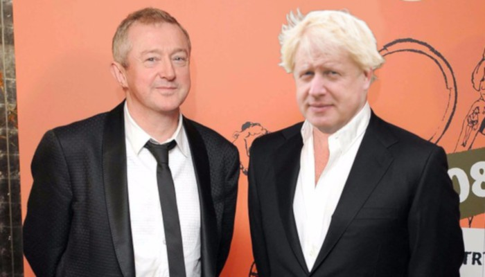 Boris Johnson and Louis Walsh