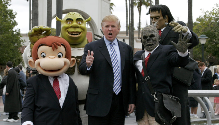 Donald Trump and Friends
