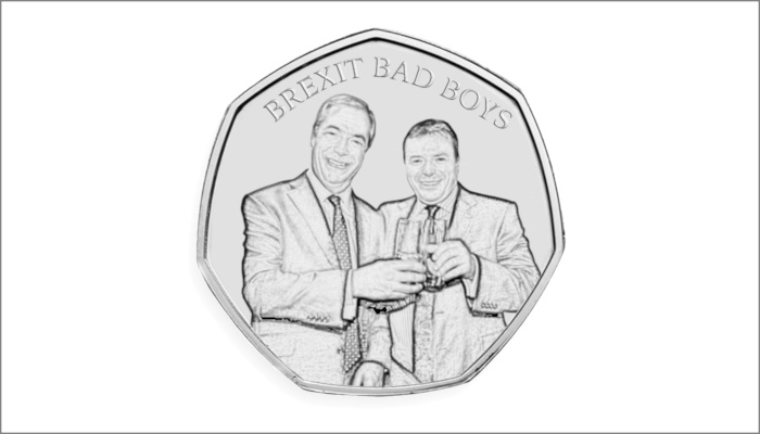Bad Boys of Brexit 50p