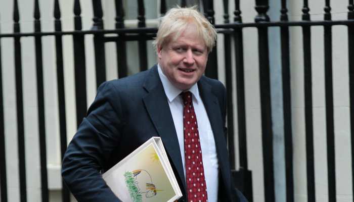 Boris Johnson Unicorn Folder