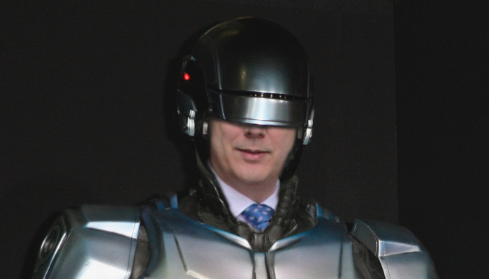 Chris Grayling RoboCop