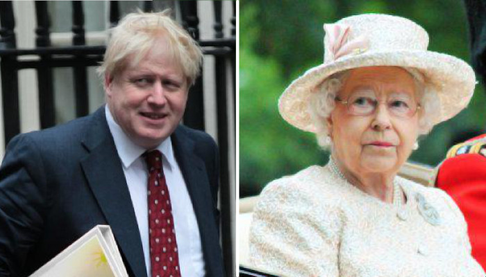 Boris Johnson versus the Queen