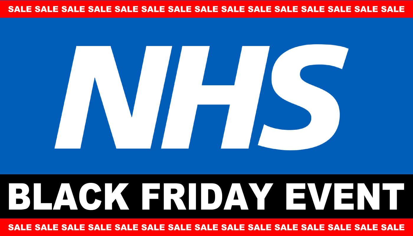 NHS Black Friday Sale Event
