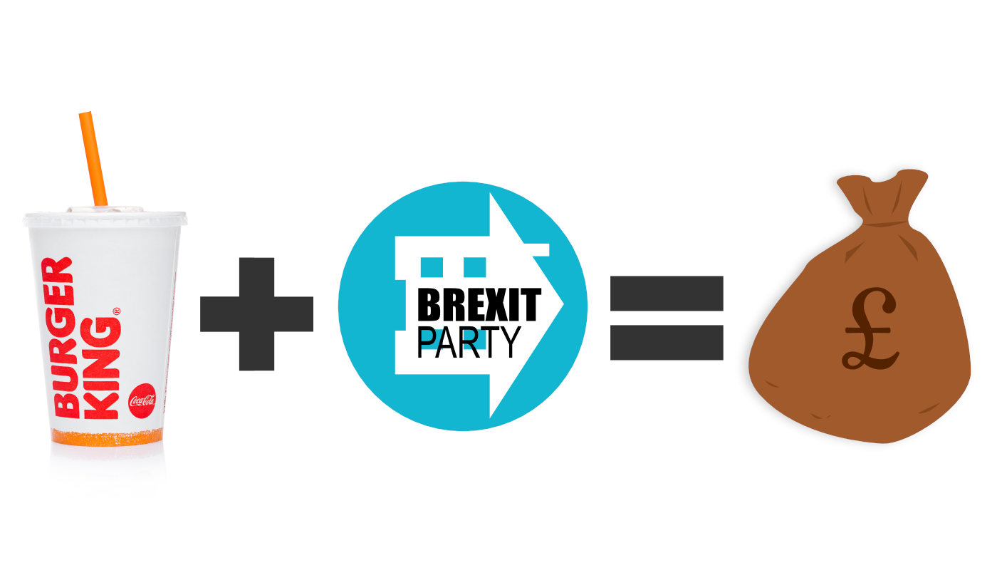 Burger King Brexit Party