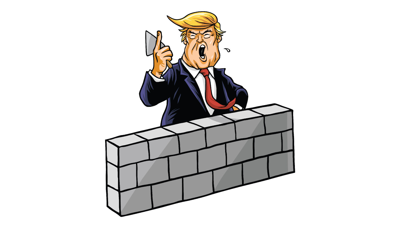 Donald Trump Builds A Wall