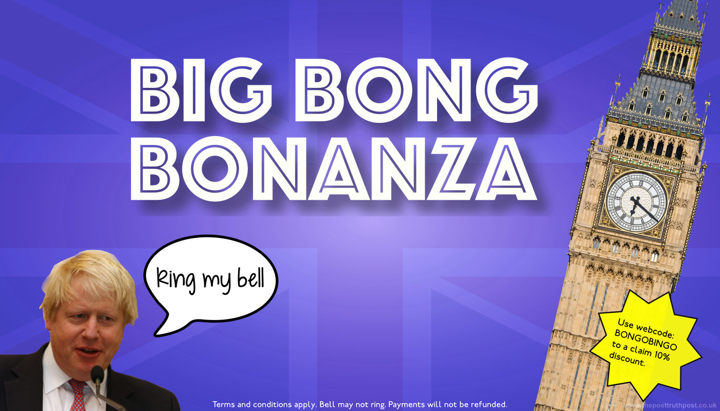 Boris Johnson's Big Bong Bonanza